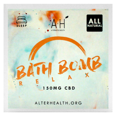 AH CBD Bath Bomb 150mg