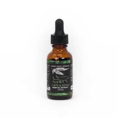 Hemp Oil CBD Extract for Pets 300mg from Queen Hemp Company