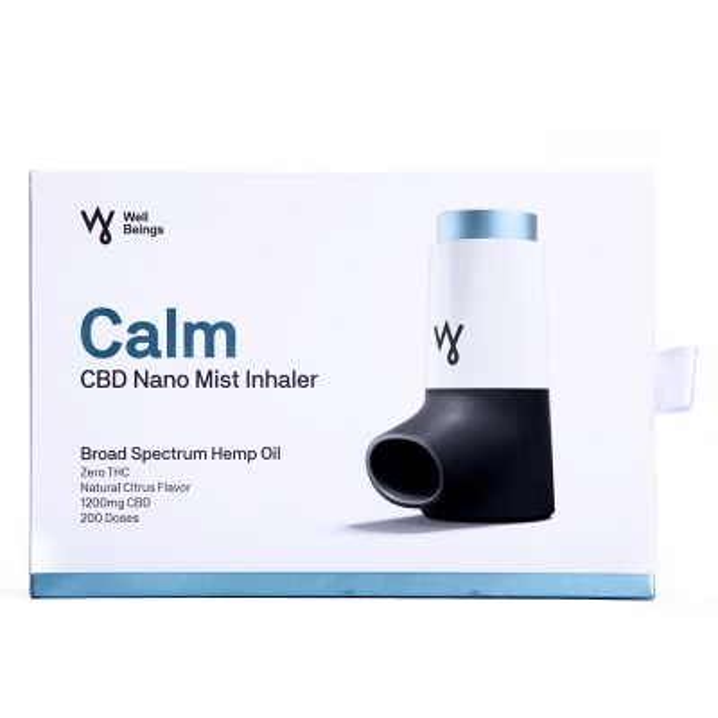 Well Beings CBD Nano Mist Inhaler Kit