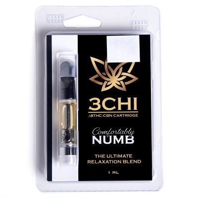 Comfortably Numb Delta-8 THC:CBN Cartridges