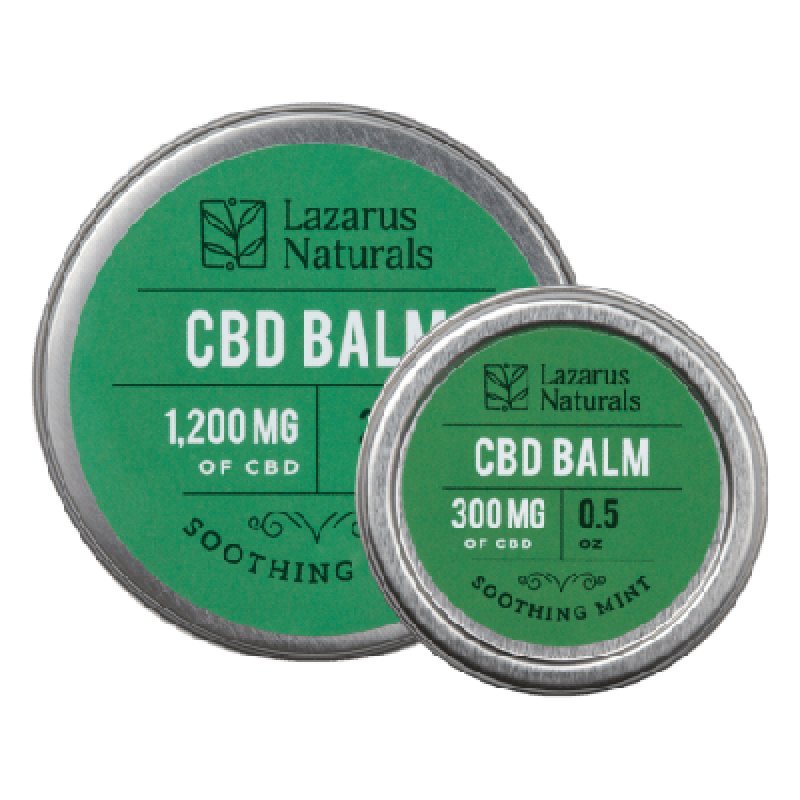 CBD Balm from Lazarus Naturals