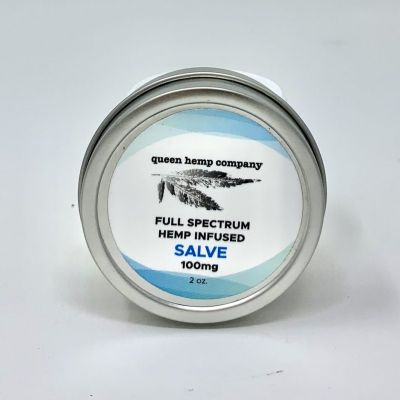 CBD Topical Salve 100mg from Queen Hemp Company