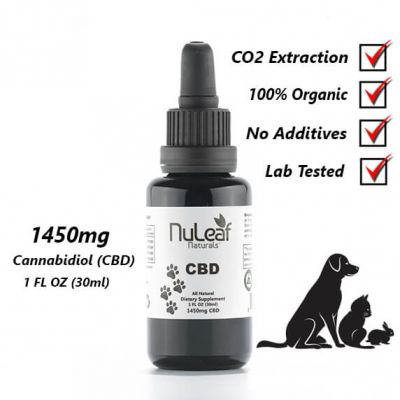 Full Spectrum Pet CBD Oil From NuLeaf