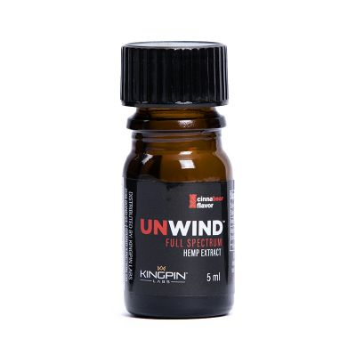 Unwind Hemp Extract 150mg CBD / 12mg Active THC Delta 9