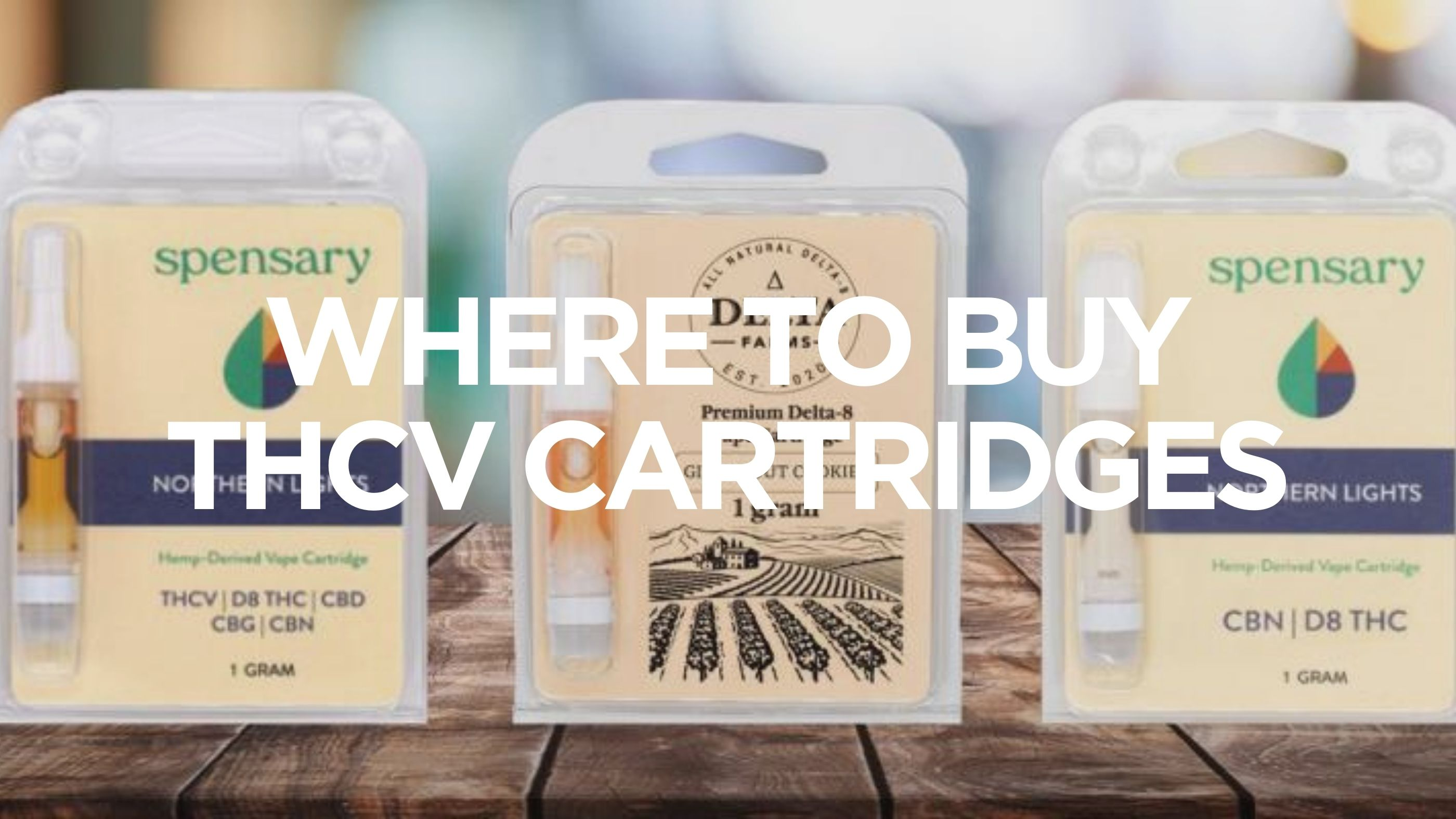 Where to Buy THCV Cartridges